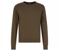 Sweatshirt mit breiten Bündchen