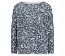 Sweatshirt mit All over Musterung