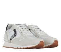 Sneaker 'Julia' aus Material-Mix