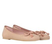 Ballerina aus Velousleder