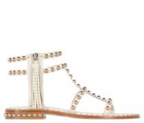 Sandalen mit Nietendetails