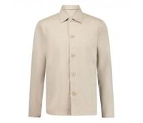 Hemd 'Pine popeline' im Overshirt-Stil