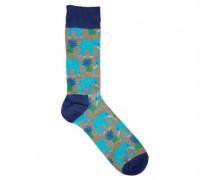 Socken mit Elefanten-Motiv