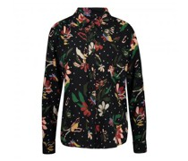 Bluse mit floralem Bluse