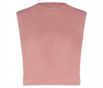 Ärmelloses-Shirt aus Organic-Baumwolle