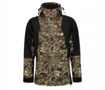 Windbreaker-Jacke 'RETRO FUTURE' mit Camouflage-Muster
