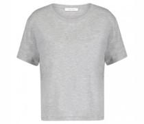 Verkürztes Basic T-Shirt 'Uta'