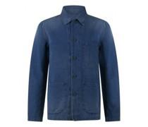 Worker Jacket in Denim-Optik
