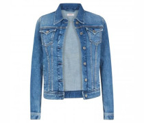 Slim-Fit Jeansjacke