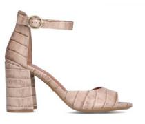 Sandaletten mit All-Over Musterung