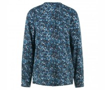 Bluse mit All-Over Musterung