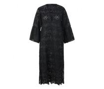 Kleid mit Loch-Stickerei
