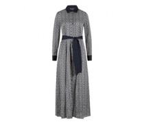 Hemdblusenkleid 'Tilda' mit All-Over Symbol Druck