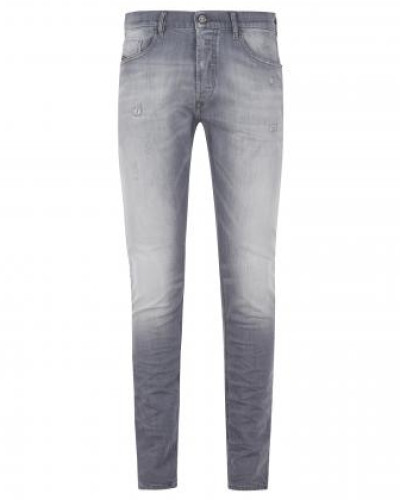 Slim-Fit Jeans mit Waschung in Used-Optik