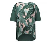T-Shirt 'Ariete' mit Blumenmuster