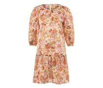 Kleid mit floraler Musterung
