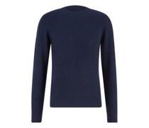 Pullover aus reinem Cashmere mit Rippenstrickstruktur
