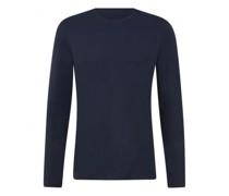 Unifarbenes Langarmshirt