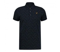 Poloshirt mit All-Over Muster