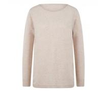 Pullover aus reiner Merinowolle mit abgerundeter Saumkante