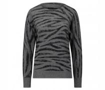 Pullover mit Zebra-Muster