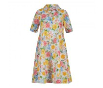 Kleid mit All-Over Druck