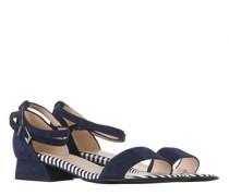 Sandale 'Pamila' aus Veloursleder
