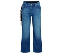 Jeans 'Cecile' mit weitem Bein
