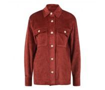 Jacke im Overshirt Style aus softem Breitcord