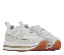 Plateau Sneaker 'Junee' aus Material-Mix