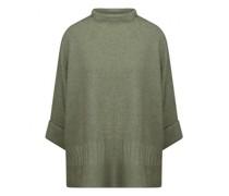 Oversized Pullover mit Strukturmuster
