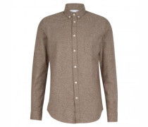 Casual-Hemd aus Baumwolle