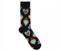 Socken mit Herz-Motiv