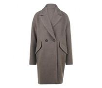 Mantel aus softer Wollmischung