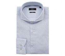 Slim-Fit Hemd 'Jemerson' mit Musterung