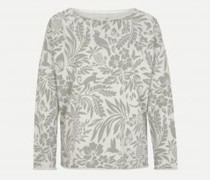 Sweatshirt mit All-Over Muster