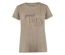 T-Shirt mit Wording Druck