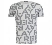 T-Shirt mit All-Over Logo-Print