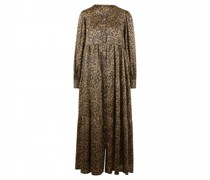 Maxikleid mit All-Over Musterung