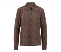 Seidenbluse 'Babia' mit All-Over Muster