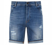 Regular-Fit Jeansshorts 'Julyan' mit Destroyed-Details