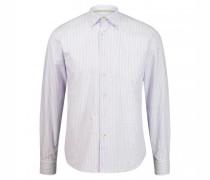 Slim-Fit Hemd mit Streifendesign