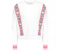 Sweatshirt mit Logo-Schriftzug