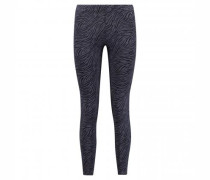 Leggings mit All over Musterung