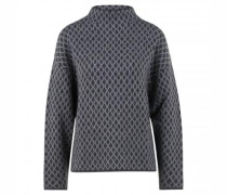 Pullover mit All-Over Muster