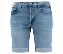 Shorts aus Stretch-Denim