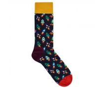 Socken mit Raketen-Motiv