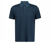 Poloshirt mit All-Over Musterung