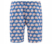 Shorts mit All-Over Print
