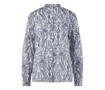 Bluse 'Conniel' mit All-Over Muster